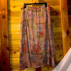 Beautiful Patchwork Style Boho Skirt